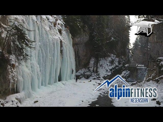 ICE CLIMBING - HipHop - Drone - Edit