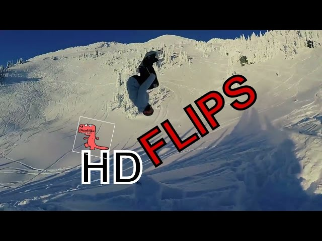 Snowboarding Backcountry Booter