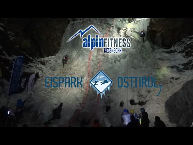 2. Osttiroler Eismaster - Speed Ice Climbing Comp.