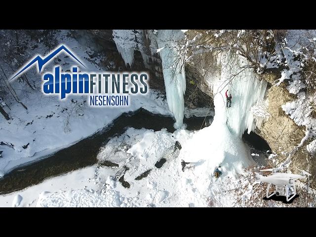 "ICE CLIMBING ""ROTES TOR"" DJI PHANTOM 4"