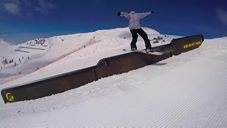 Antoine Truchon Shredding Rails