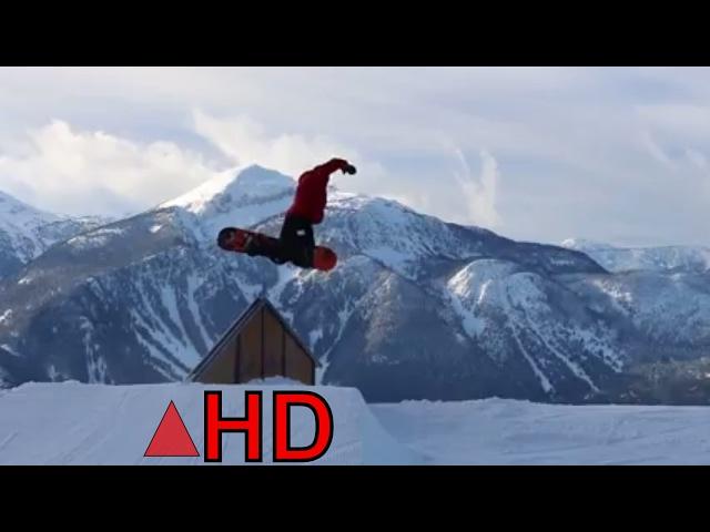 Snowboarding Terrain Park 2017