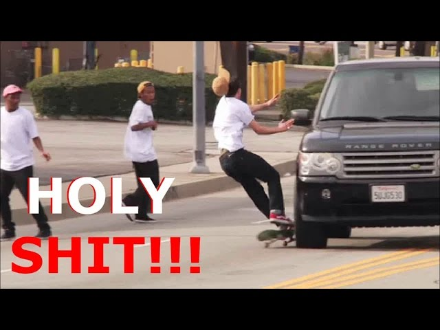 BEST SKATEBOARDING FAILS 2017!