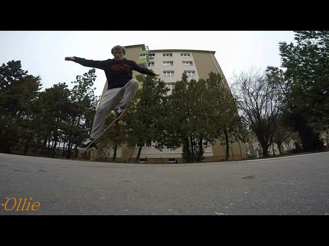 10 Easy Skateboard Tricks 2017