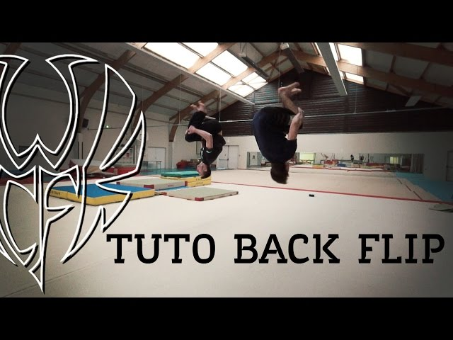 Tutoriel ¤ Salto arriére/ Back flip