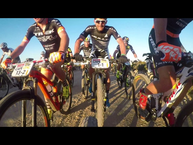 ABSA Cape Epic 2017 – Stage 1 –  GoPro Highlights