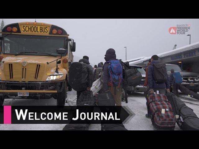 Welcome Journal - Haines Alaska FWT17 - Swatch Fre