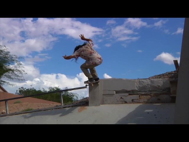 Trapped Las Vegas Skateboarding