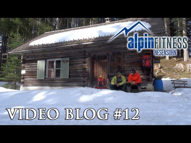 Hiking on a windy day :: Alpinfitness VLOG