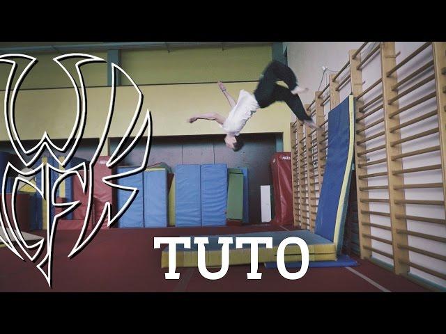 Freerun Tutoriel ¤ Salto arrière appui mural / Wal