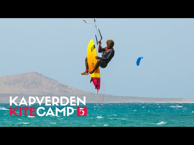 Kitesurf Sal (Cape Verde) with worldchamps