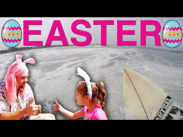 RUN RABBIT RUN (an Easter surfing story)