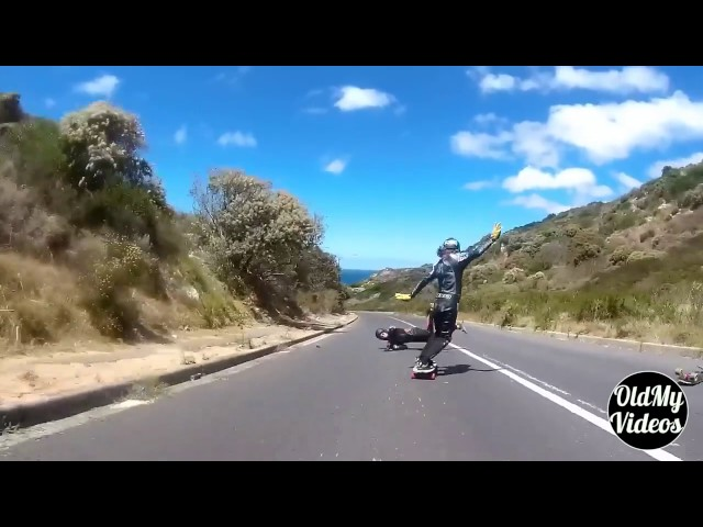 Longboard Fails Compilation