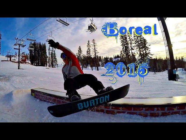 Boreal Snowboarding