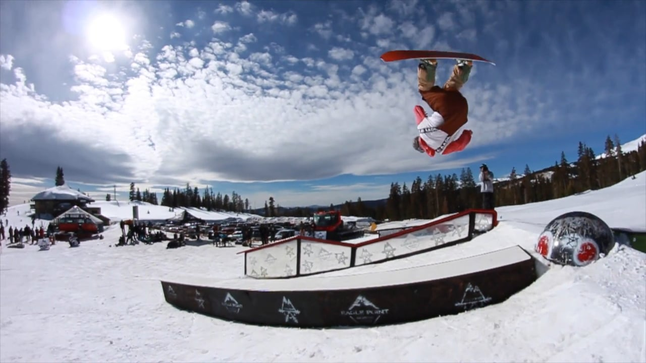 Mongo Smash 2017 Rail Jam at Eagle Point
