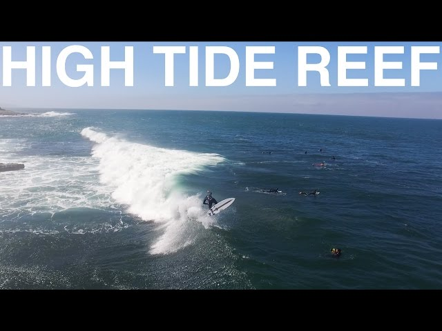 HIGH TIDE at SAN DIEGO REEF