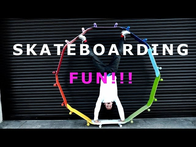 BEST SKATEBOARDING FUN 2017 || #1