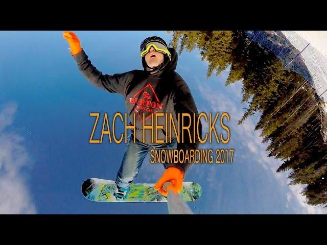 Zach Heinricks Snowboarding 2017