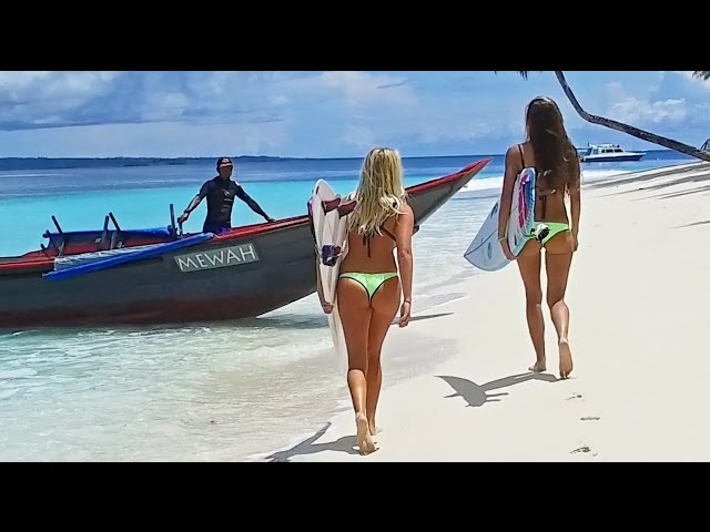 KALOEA Surfer Girls - Destination Mentawai 4K