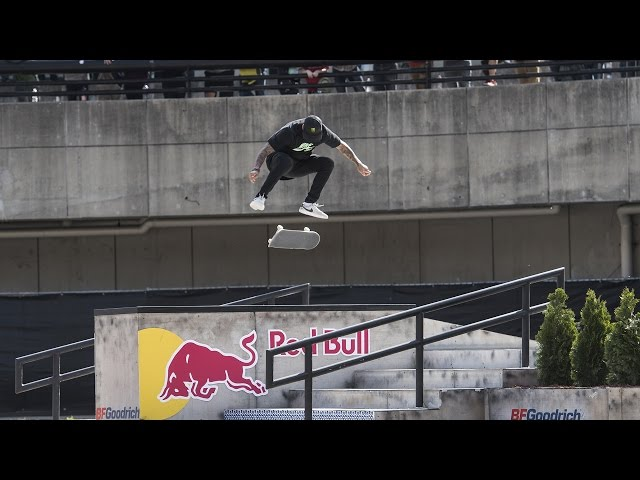 Nyjah Huston Wins Red Bull Hart Lines 2017