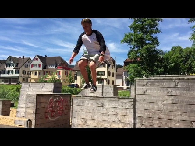 Parkour Park Jumps