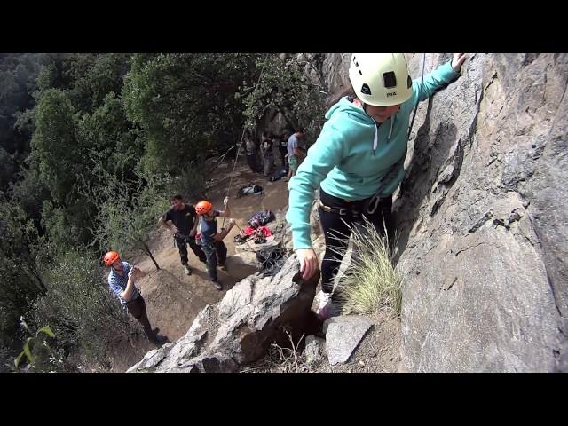 Escalando en el Bosque Mágico - El Arrayán