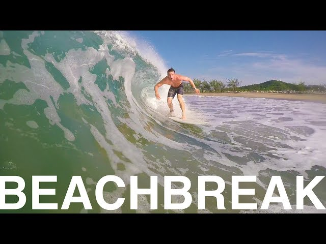 MEXICAN BEACHBREAK SURFING