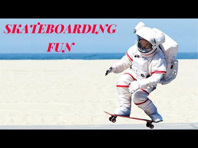 BEST SKATEBOARDING FUN 2017! #1