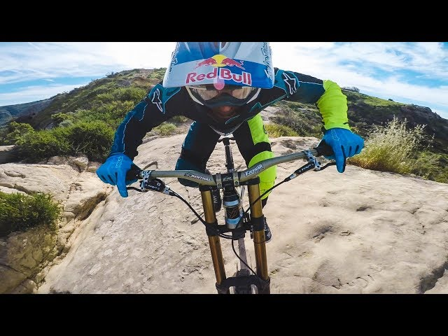 Aaron Gwin Rides Top of the World
