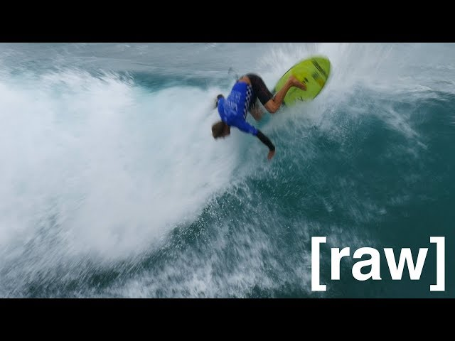 [raw footage] VAN US OPEN OF SURFING 2017