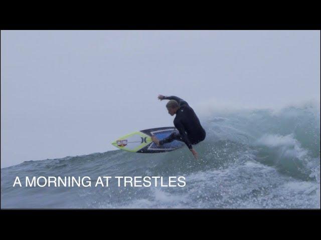 TRESTLES HURLEY PRO WARM-UPS