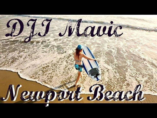 DJI Mavic Pro Newport Beach