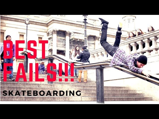 BEST SKATEBOARDING FAILS COMPILATION 2017! #6