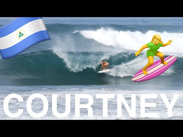 SURFING WITH COURTNEY CONLOGUE (in NICARAGUA)