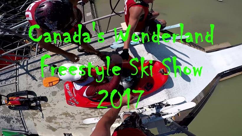 Canada's Wonderland Freestyle Ski Show
