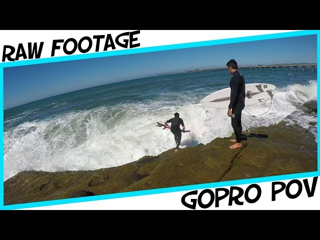 GoPro POV Surfing - Shooting Ocean Beach Pier