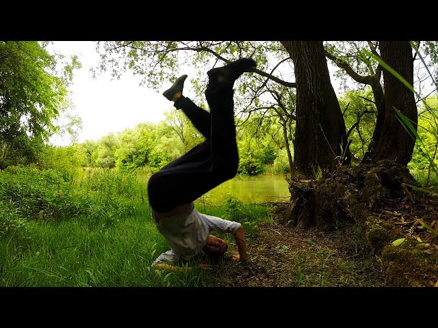 Parkour in nature