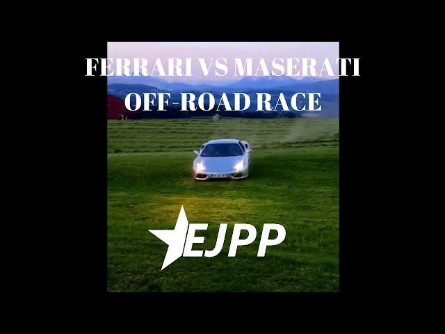 Off-road race : Ferrari VS Maserati #2 - EJPP