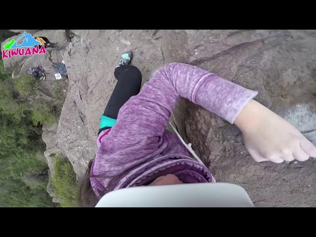 Escalando en Lo Curro - Lo Curro Rock Climbing