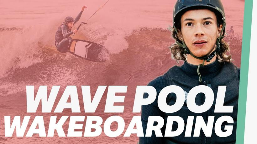 Wakeboard Wave Pool Action: Nico von Lerchenfeld