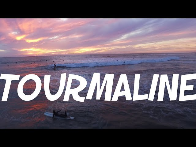 THE PINKEST SUNSET AT TOURMALINE (Surfing Drone Fo