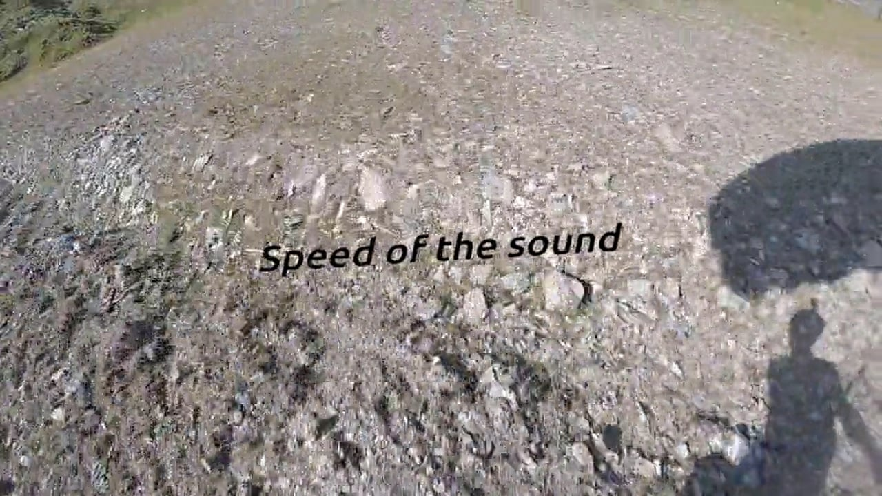 Speed of the sound #Speedflying #JustinDeisenroth
