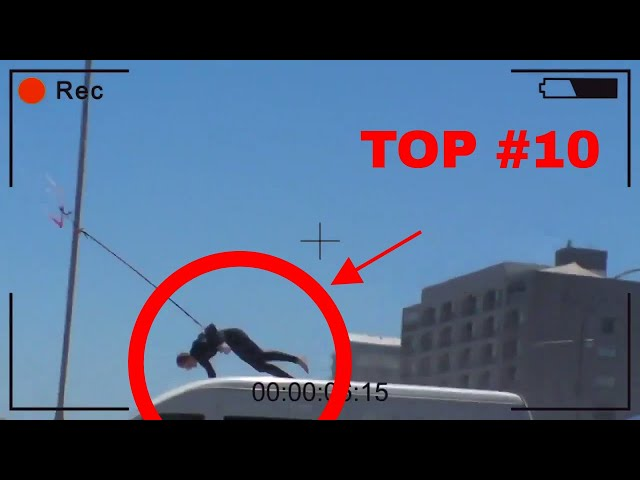💀 KITESURF LAUNCH ACCIDENTS - TOP#10 COMPILATION