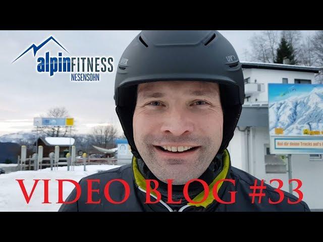 Jens first time on skis :: Alpinfitness VLOG #33