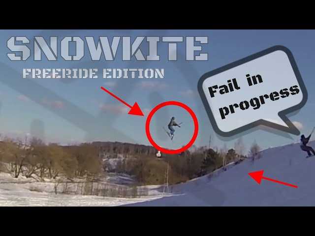 ❄ #TOP10 SNOWKITE CRASHES and FAILS Compilation -