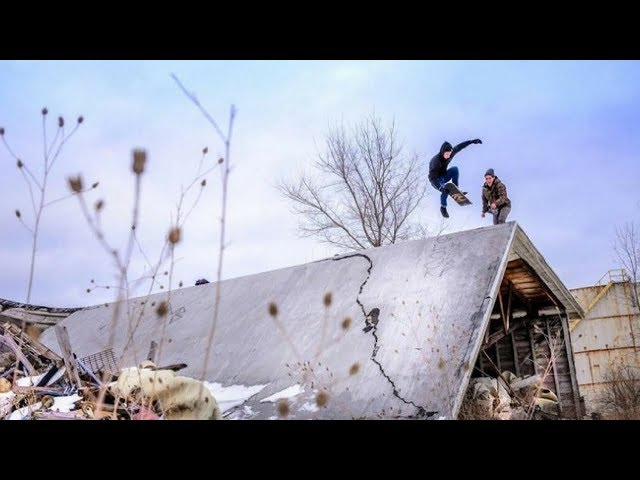 BEST SKATEBOARD TRICKS 2017! SNOWSKATE EDIT!