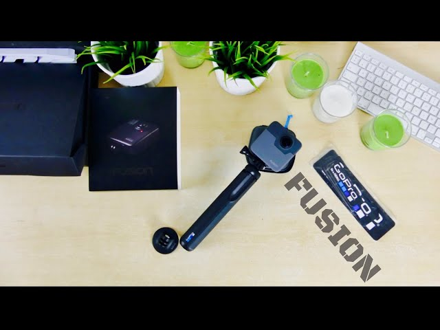 Unboxing GO PRO FUSION 360° - la machine à TUTOS