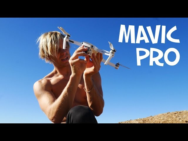 DJI MAVIC PRO ALPINE WHITE - Unboxing and Review f