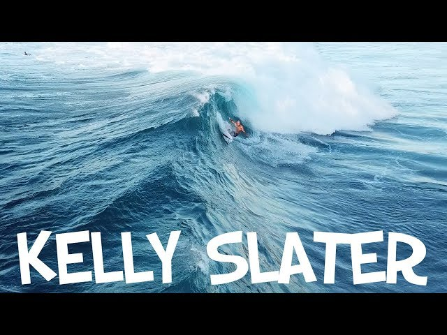 KELLY SLATER SURFING HALEIWA 2018