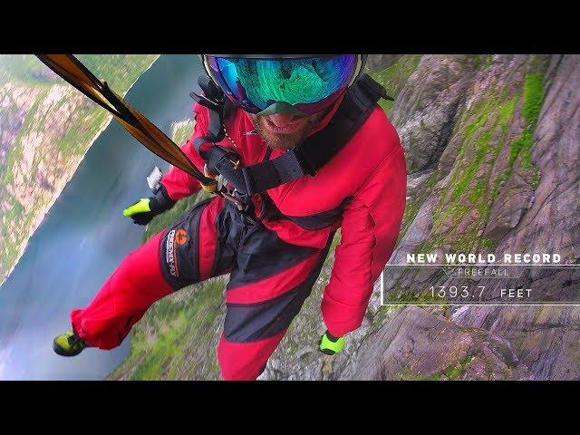 World Record Rope Jump Freefall